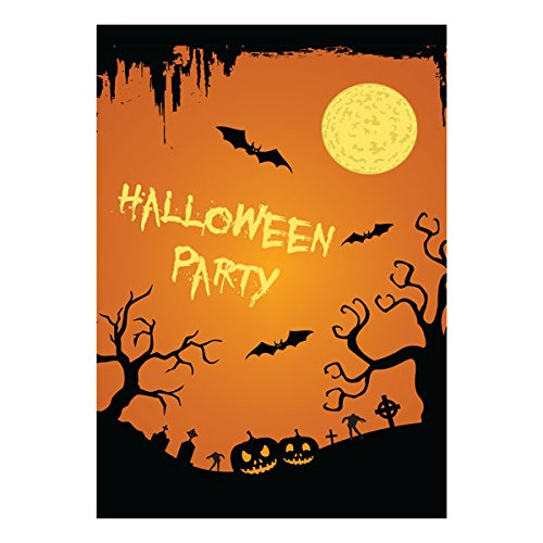TUPARKA 30 Pack Halloween Greeting Cards with Envelopes and Halloween Stickers 6 Halloween Designs