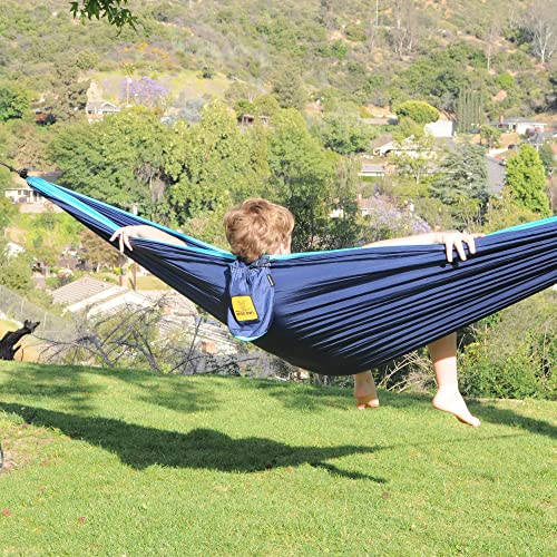Wise Owl Outfitters Hammock for Camping Single /& Double Hammocks Gear for The Outdoors Backpacking Survival or Travel Portable Lightweight Parachute Nylon SO Green /& Blue
