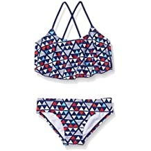 4824c4e2ac Kanu Surf Girls' Alania Flounce Bikini Beach Sport 2-Piece Swimsuit